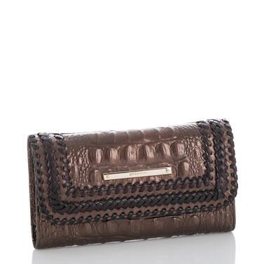 Soft Checkbook Wallet Patina Palermo Side