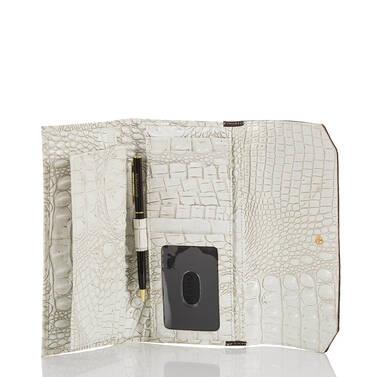 Soft Checkbook Wallet Coconut Kedima Interior