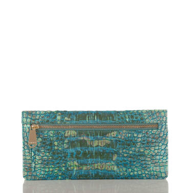 Ady Wallet Turquoise Sandestin Back