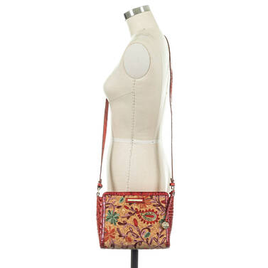 Carrie Crossbody Lava Rogers On Mannequin