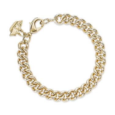 Classic Curb Bracelet 18K Gold Plated Providence Front