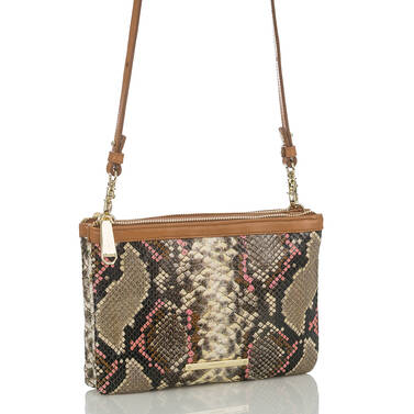 Perri Crossbody Taupe Hermosa Side