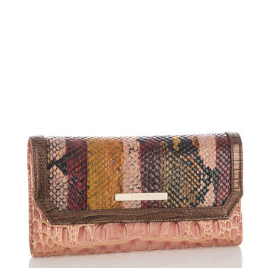 Soft Checkbook Wallet Multi Miramar Side