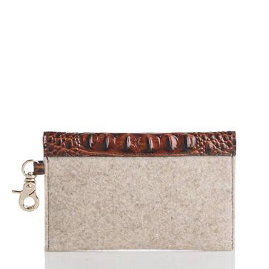 Mini Envelope Case Natural Jamestown Back
