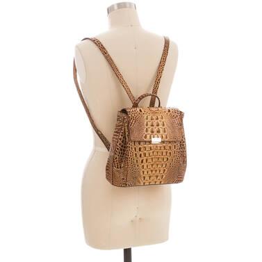 Margo Backpack Toasted Melbourne On Mannequin