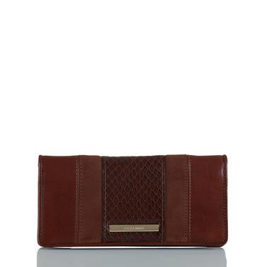 Ady Wallet Pecan Windsor Front