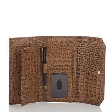Soft Checkbook Wallet Patina Masolino Interior