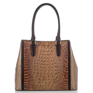 Joan Tote Toasted Almond Bengal Back