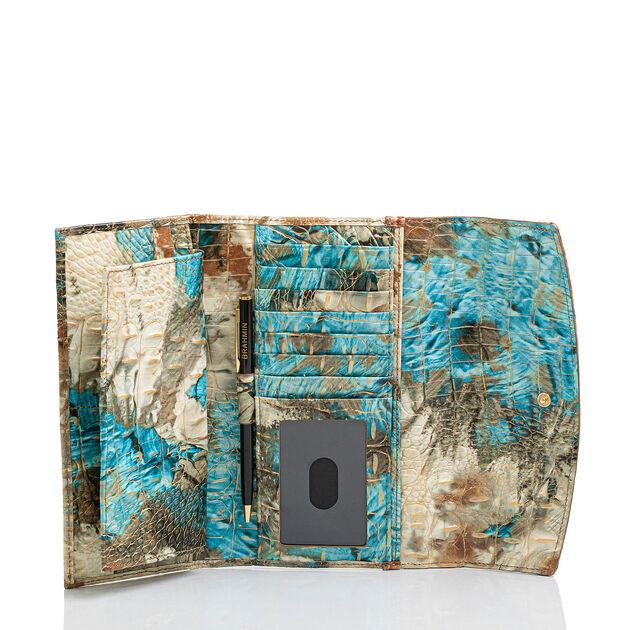 Modern Checkbook Wallet Bird Of Paradise Vitoria