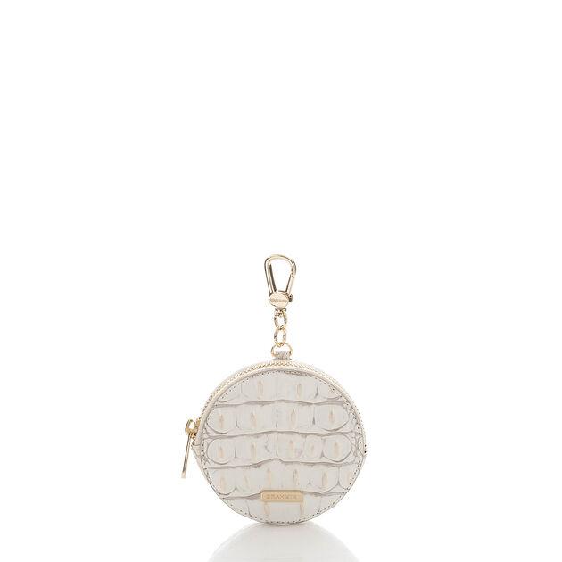 Circle Coin Purse Pearl Melbourne, Pearl, hi-res