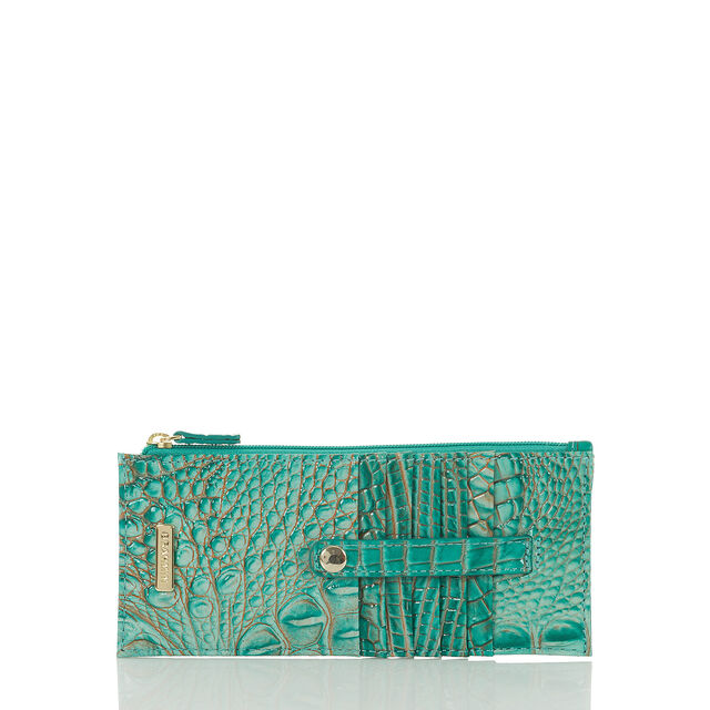 Credit Card Wallet Turquoise Melbourne, Turquoise, hi-res