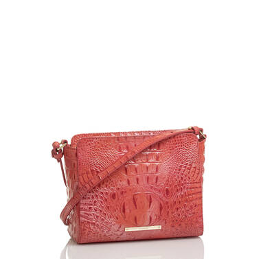Carrie Crossbody Punchy Coral Melbourne Side