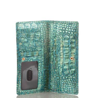 Ady Wallet Turquoise Sandestin Interior