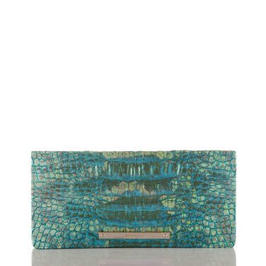 Ady Wallet Turquoise Sandestin Front