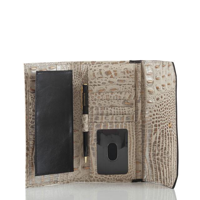 Soft Checkbook Wallet Graphite Crestview, Graphite, hi-res