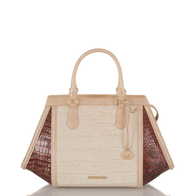 Arden Satchel Light Gold Brinkley, Light Gold, hi-res