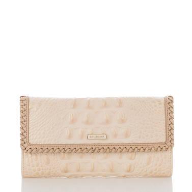 Soft Checkbook Wallet Sunglow Dalton Front