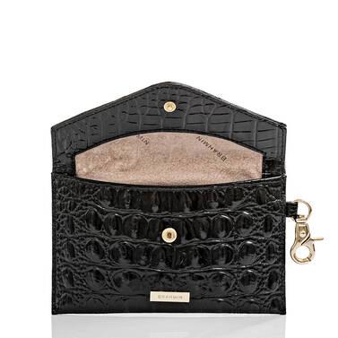 Mini Envelope Case Black Melbourne Interior