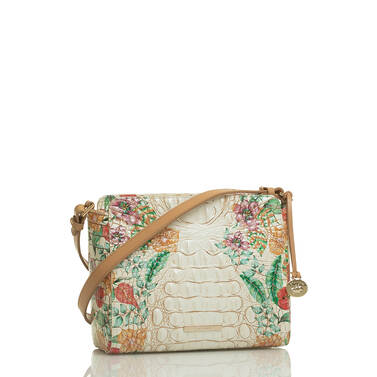 Carrie Crossbody Ivory Tahiti Side