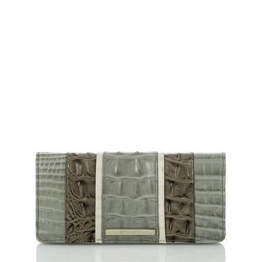 Ady Wallet Silver Sage Tarama Front