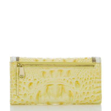 Soft Checkbook Wallet Dandelion Fairchild Back