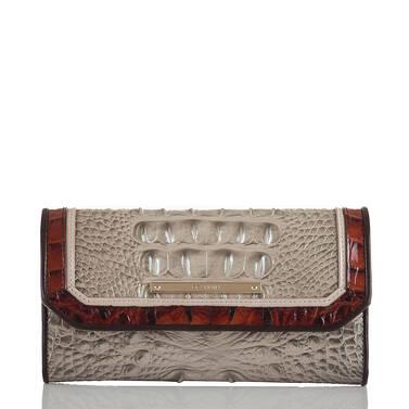 Soft Checkbook Wallet Hemlock Westwood Front