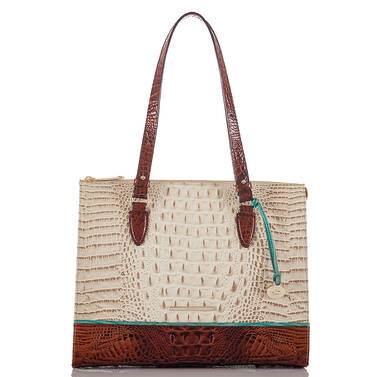 Anywhere Tote Vanilla Macaw Front