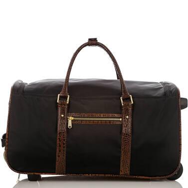 CarryOn Wheeled Duffle Black Travel Back