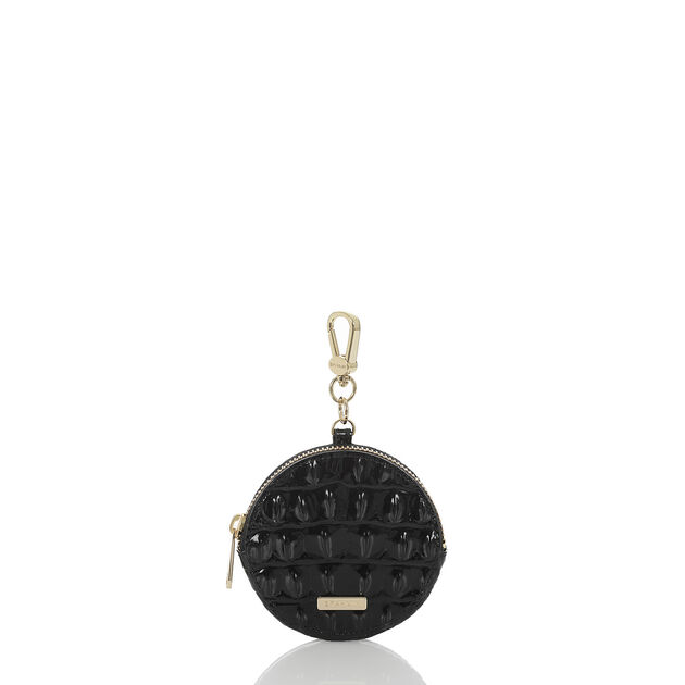 Circle Coin Purse Black Melbourne, Black, hi-res