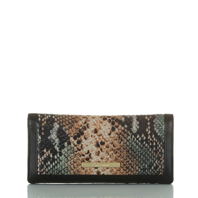Ady Wallet Serpentine Patchouli
