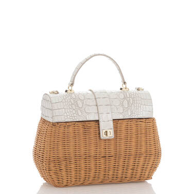 Tracy Satchel Pearl Haring Side
