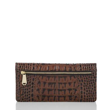 Ady Wallet Black Tuscan Tri-Texture Back