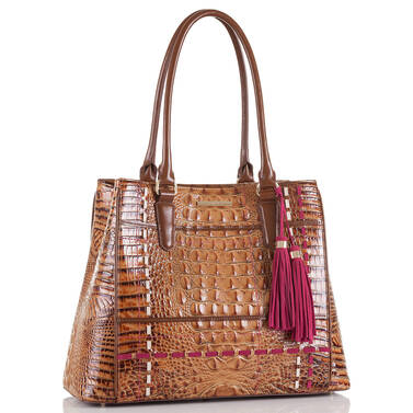 Joan Tote Toasted Almond Hayes Side