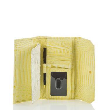 Soft Checkbook Wallet Dandelion Fairchild Interior