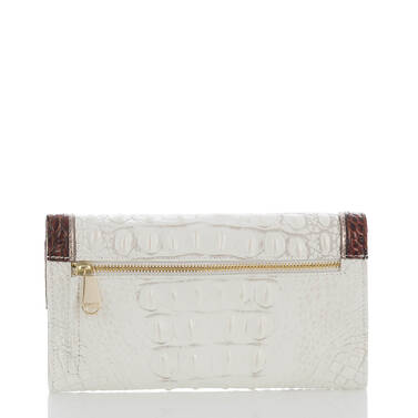 Soft Checkbook Wallet Pearl Akoya Back