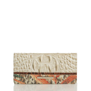 Ady Wallet Ivory Waveson Front Last Chance