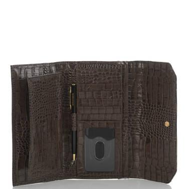 Soft Checkbook Wallet Elmwood Padua Interior