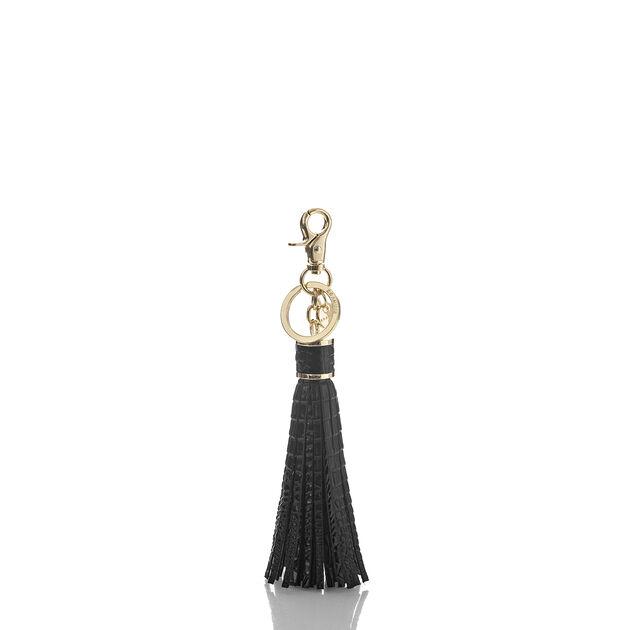 Large Tassel Black Melbourne, Black, hi-res