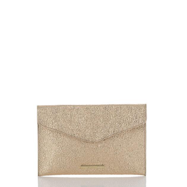 Envelope Clutch Gold Grady, Gold, hi-res
