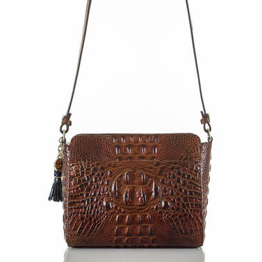 Carrie Crossbody Pecan Canterbury Back