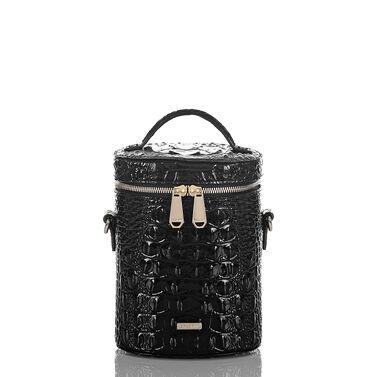 Brynn Barrel Bag Black Melbourne Front