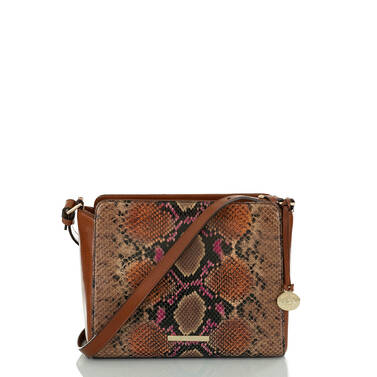Carrie Crossbody Marmalade Tangelo Front