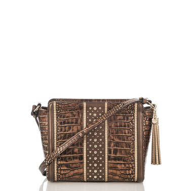 Carrie Crossbody Brown Milan Front