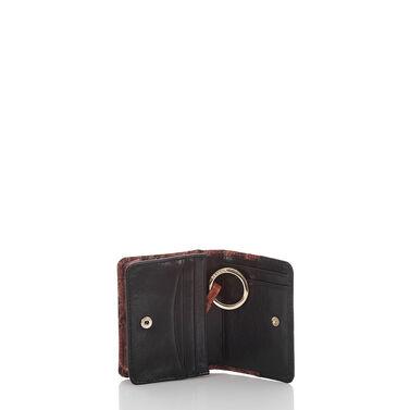 Mini Key Wallet Pecan Fitzgerald Front