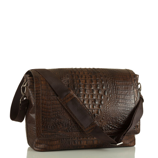 Mason Messenger Cocoa Brown Vintage Melbourne, Cocoa Brown, hi-res