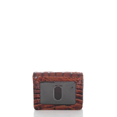 Mini Key Wallet Pecan Fitzgerald Back
