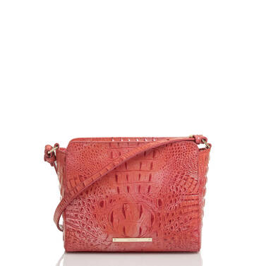 Carrie Crossbody Punchy Coral Melbourne Front