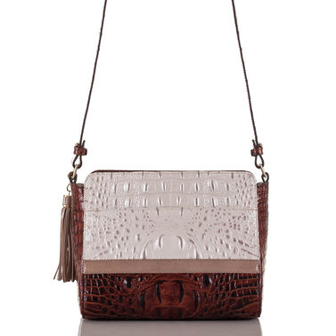 Carrie Crossbody Toasted Macaroon Durance Front