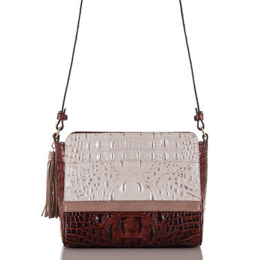 Carrie Crossbody Toasted Macaroon Durance Back