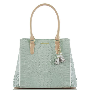 Joan Tote Sea Glass Tri-Color Front